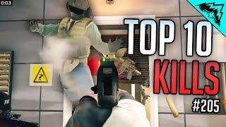 Download SIEGE RUSH - Top 10 Rainbow Six Siege Kills - WBCW #205 (Siege Top 10 Kills) Video