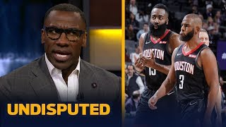 Download James Harden and Chris Paul cannot coexist on the Rockets — Shannon Sharpe | NBA | UNDISPUTED Video