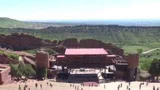 Download Red Rocks Amphitheatre Touring In 4K Video