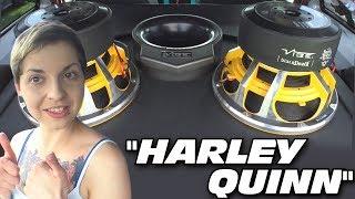 Download Her Volkswagen ROCKS!!! Two 12″ Vibe Audio Black Death Subwoofers & Custom Car Door Speakers Video