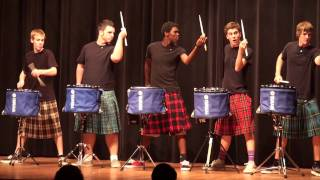 Download THE OFFICIAL Hot Scots drum line - 2011 - Nigel - Talent Show at LHHS Video