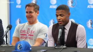 Download Dallas Mavericks #1 pick Dennis Smith Jr. is in town Video