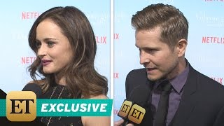 Download EXCLUSIVE: 'Gilmore Girls' Stars Spill on Rory and Logan's 'Surprising' Relationship in the Netfl… Video