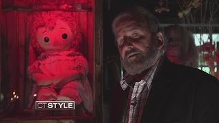 Download Ryan visits the Annabelle Doll at The Warren's Occult Museum Video