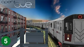 Download OpenBVE: (5) to New Lots Avenue | Bronx Local | R142 Video