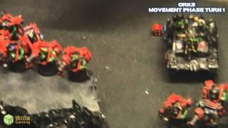 Download Orks VS Blood Angels Warhammer 40k Battle Report - Banter Batrep Part 1/4 Video