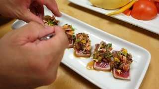 Download Seared Tuna With Mango Salsa - How To Make Sushi Series Video