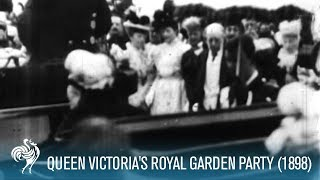 Download Queen Victoria Arrives at a Royal Garden Party (1898) | British Pathé Video