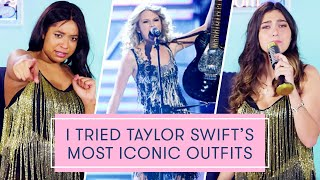 Download I Tried Taylor Swift's Most Iconic Outfits | The Dressing Room Challenge Video