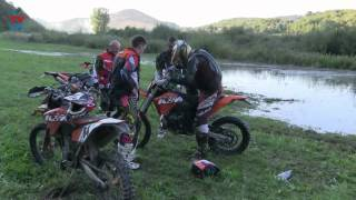Download Husaberg vs Ktm water test! Video