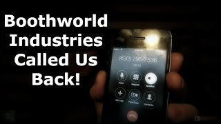 Download BOOTHWORLD INDUSTRIES CALLED US BACK! Scary Phone Calls! (630)-296-7536 - Paranormal America Video