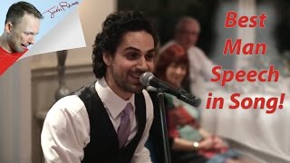 Download Best Man SINGS his Speech... and it's AWESOME! Video