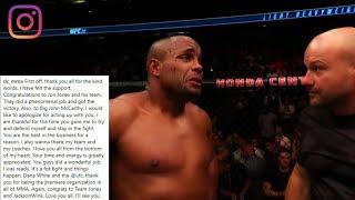 Download Daniel Cormier Breaks Silence Following UFC 214 Loss Video