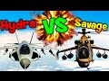 Download QUIEN ES MEJOR? HYDRA VS SAVAGE DUELO EPICO!! GTA V ONLINE Makiman Video
