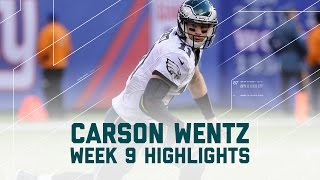 Download Carson Wentz Throws for 364 yards & 2 INTs | Eagles vs. Giants | NFL Week 9 Player Highlights Video