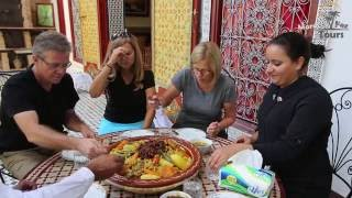 Download Moroccan Cooking Class Couscous Video