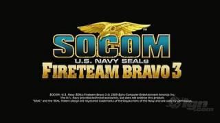 Download SOCOM: U.S. Navy SEALs Fireteam Bravo 3 Sony PSP Trailer - Video