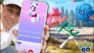 Download EVOLVING TO SHINY FROSLASS! Getting NEW POKÉMON in Pokémon GO! Video