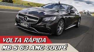 Download MERCEDES-AMG S 63 COUPÉ – VR COM RUBENS BARRICHELLO #75 | ACELERADOS Video