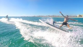 Download One Cracked Rib & One Broken Finger - Double Surfing!! Video