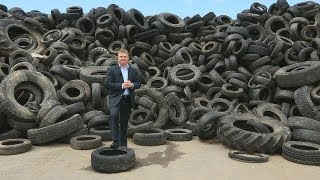 Download Recycling tyres: road to success - business planet Video