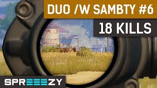 Download PUBG Duo Game #6 | 18 Kills (23 Total) | Basically Solos /w Liquid Sambty Video