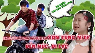 Download Lam Chi một mực đòi đi xem Sơn Tùng MTP đến mức....đi lạc | Đẹp TV Video