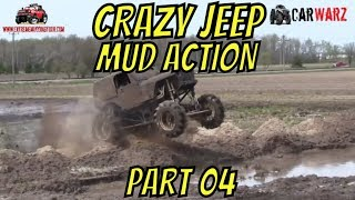 Download CRAZY JEEP MUDDING ACTION BEST OF PART 04 Video