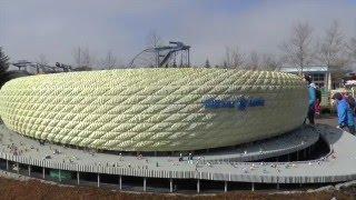 Download Allianz Arena im Legoland ist größtes Lego-Gebäude der Welt! #Legoland Video