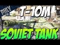 Download War Thunder Tanks - New Soviet Tank T-10m / IS-8 - Glass Cannon?! Video