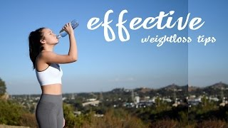 Download 6 EASY weightloss tips that will make a BIG difference Video