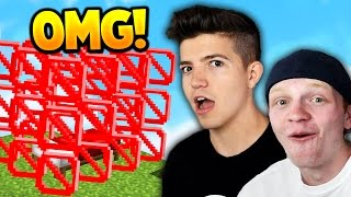 Download TWO YOUTUBERS HACK MINECRAFT BED WARS! Video