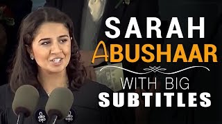 Download LEARN ENGLISH | Sarah Abushaar - A Revolution In Our Mind (Big Subtitles) Video