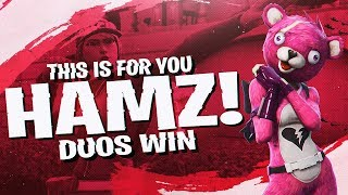 Download THE GRAPPLER CLUTCH! FUNNY DUOS WITH HAMLINZ (Fortnite BR Full Match) Video