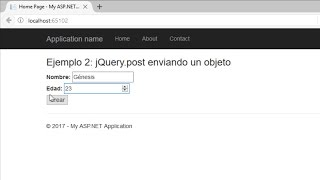 Download Ajax con jQuery. Post y Get | AJAX | Programando en ASP MVC 5 Video