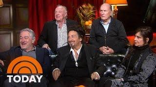 Download 'Godfather' Reunion: Al Pacino, James Caan, Robert Duvall Reveal Secrets | TODAY Video