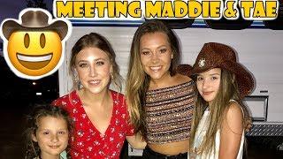 Download Meeting Maddie & Tae 🤠 (WK 337.4) | Bratayley Video