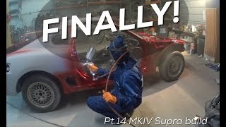 Download Pt.14 MKIV Supra Build | Painting the Door Jambs and engine bay! Video