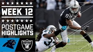 Download Panthers vs. Raiders (Week 12) | Game Highlights | NFL Video