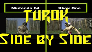 Download Turok Side by Side: N64 vs. Xbox One Video