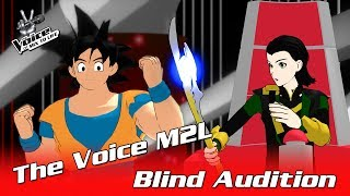 Download ✪ Goku - Heroes Tonight ✪ Blind Auditions ► The Voice M2L Video