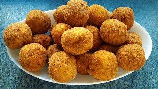 Download Çıtır Çıtır Patates Topları Tarifi - Potato Balls Recipe - Bizim Terek Yemek Tarifleri Video