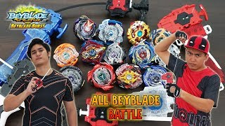 Download [GIVEAWAY] EPIC BATTLE! ALL BEYBLADE BURST GOD EVOLUTION BATTLE ! Video