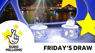 Download The National Lottery Friday 'EuroMillions' draw results from 8th June 2018 Video