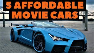 Download 5 Cars from Movies You Didn't Know You Could Afford Video