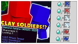 Download 50vs50vs50 Minecraft CLAY SOLDIERS MODDED BATTLEDOME CHALLENGE - Minecraft Mod Video