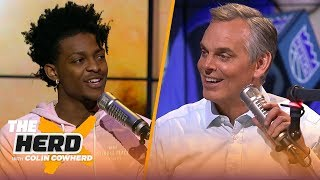 Download De'Aaron Fox on the challenge of defending Steph Curry & playing in Sacramento | NBA | THE HERD Video