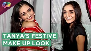 Download Tanya Sharma Shares Her Festive Make Up Look For Wedding Season | Exclusive | India Forums Video