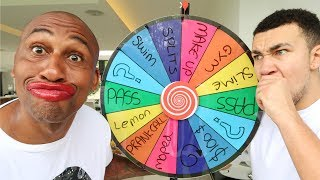 Download 1 SPIN = 1 DARE! WITH MY PARENTS... Wheel Roulette Challenge Video