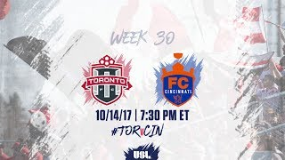 Download USL LIVE - Toronto FC II vs FC Cincinnati 10/14/17 Video